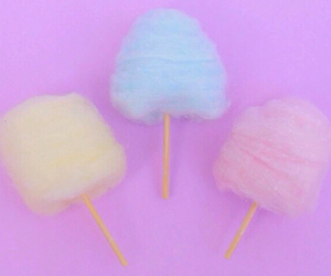 cotton candy, pastel, and pink image