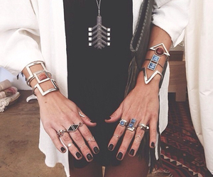 fashion, rings, and style image