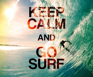 keep calm and surf image