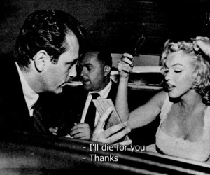 beautiful, marilyn, and movie quotes image