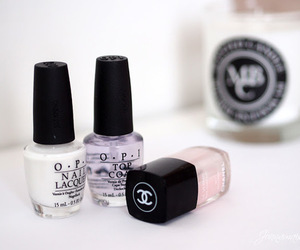 chanel, opi, and nail polish image