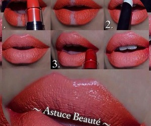 kiss tuto maquillage and make'up glossy gloss image