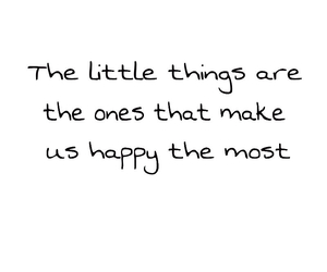 happy, little things, and happiness image