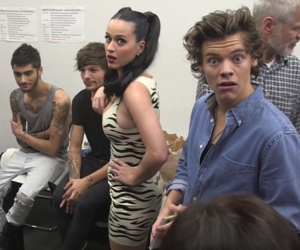 one direction, Harry Styles, and katy perry image