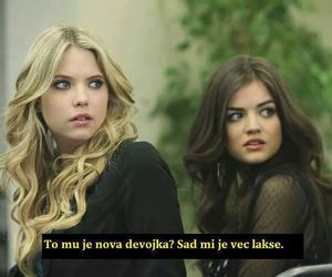 bitch, pretty little liars, and pll image