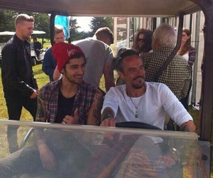 zayn malik, dad, and perrie edwards image