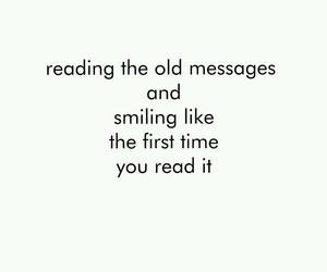 smile, message, and quote image