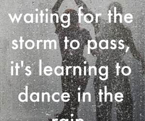 advice, life, and storm image