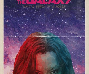 gamora and guardians of the galaxy image
