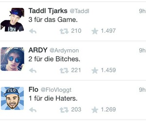 ardy, tardy, and youtuber image