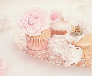 food, cupcakes, and pink image