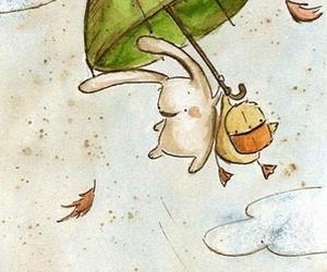 illustration and umbrella image