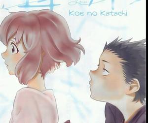 manga, koe no katachi, and boy image