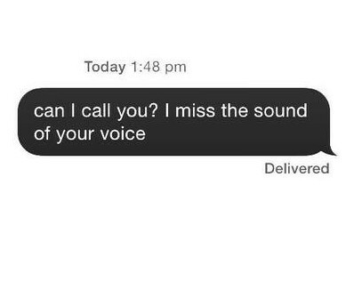 love, voice, and miss image