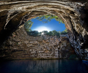 beauty, Greece, and nature image