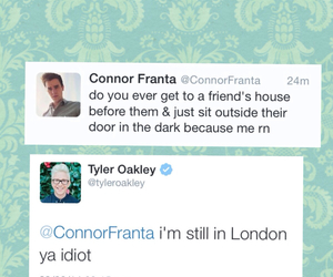 youtubers, tyler oakley, and connor franta image