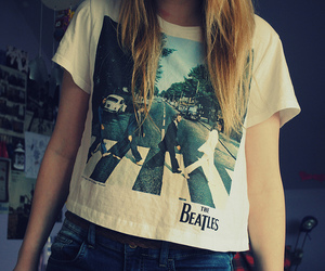fashion, girl, and the beatles image
