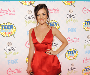lucy hale and tca image