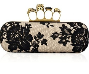 Alexander McQueen, purse, and love image