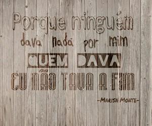 brasil, frase, and Marisa Monte image