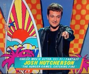 awesome, josh hutcherson, and teen choice awards 2014 image