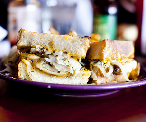 food, sandwich, and sandwiches image