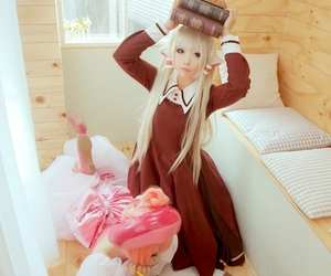 chobits, cosplay, and chii image