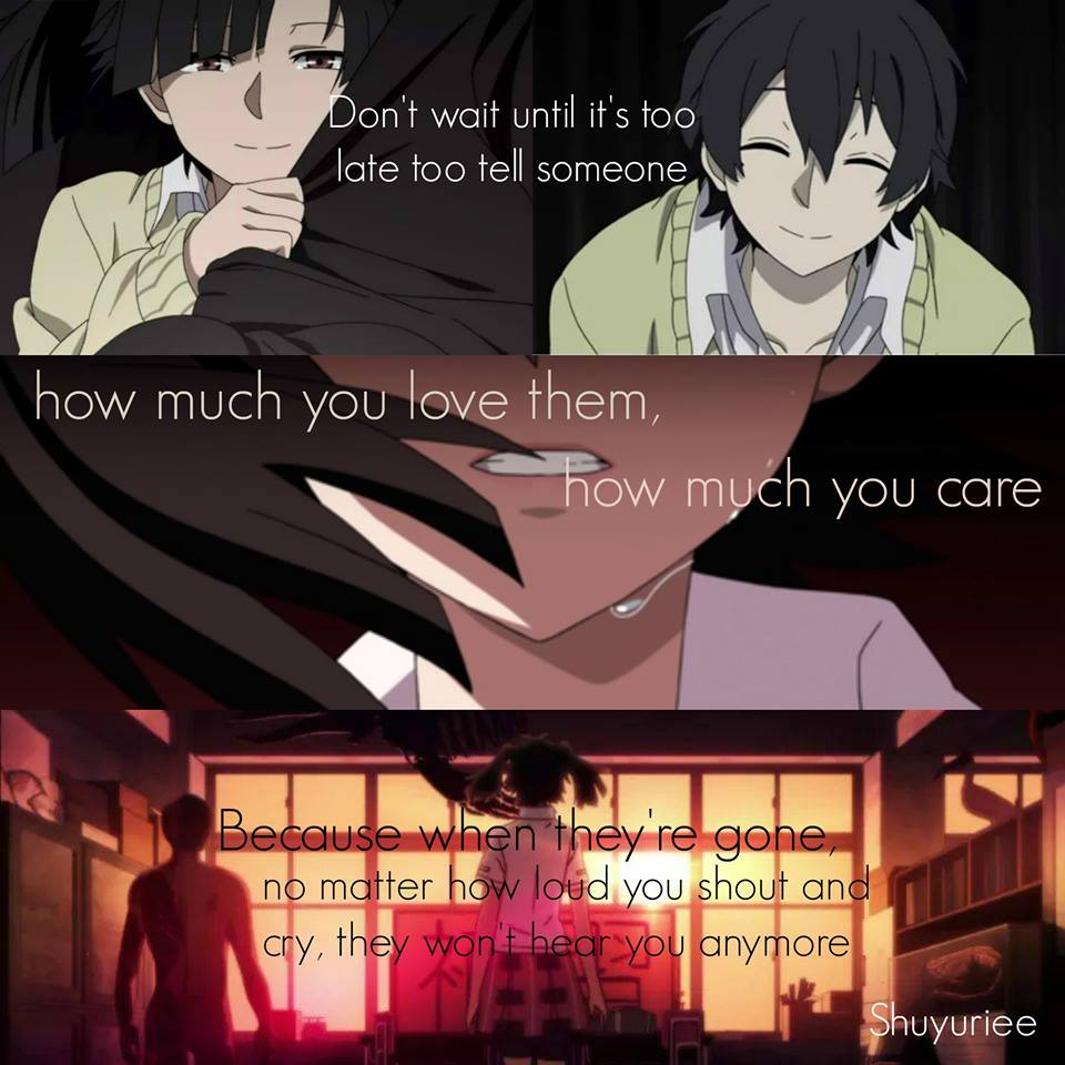 36 images about Anime Quotes on We Heart It