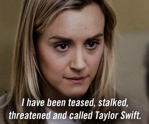 Taylor Swift, orange is the new black, and oitnb image