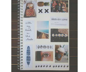 blanco, Collage, and eye image