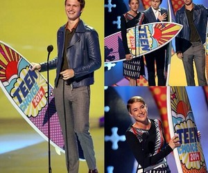 tfios, ansel elgort, and teen choice image