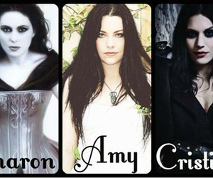 gothic, symphonic metal, and gothic singer image