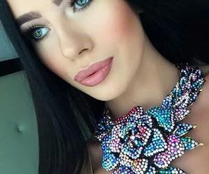 fashion, lips, and jewelery image