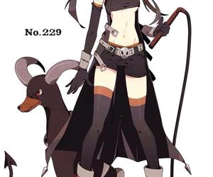 pokemon, anime, and houndoom image
