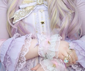 angelic pretty, sweet lolita, and violet image