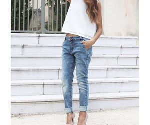 boyfriend, fashion, and jeans image