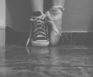 all stars, converse, and ballet image