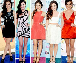 lucy hale, teen choice awards, and pretty little liars image