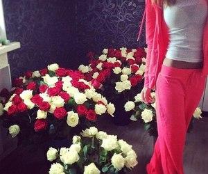flowers, couple, and luxury image