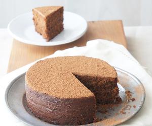 cake, hazelnut, and chocolate image