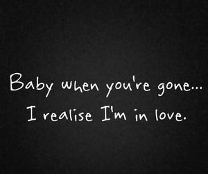 baby, gone, and sad image