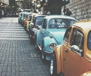 car, colorful, and vintage image