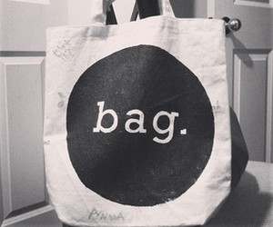 bag, black, and diy image