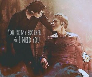 bromance, brothers, and salvatore image