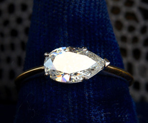 diamond, engagement, and jewellery image