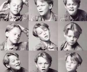 child, evolution, and Leonardo di Caprio image