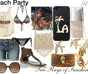aries, beach party, and dior image
