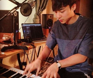 composer, kpop, and piano image