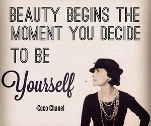 chanel, coco chanel, and beauty image