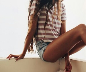 beautiful, jeans, and outfit image